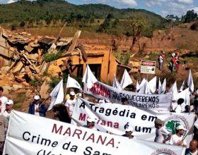 Los afectados por el vertido de Mariana (Brasil) reclaman justicia.
