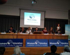Ana Ruiz en las Jornadas de Formación de Manos Unidas
