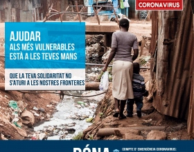 COVID-19: campaña de emergencia sanitaria