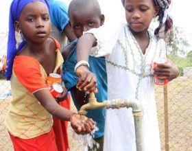 Inauguración de potabilizadoras en Senegal