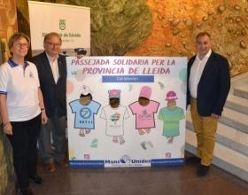 archa de Manos Unidas en 10 municipios de Lleida el domingo 7 de abril