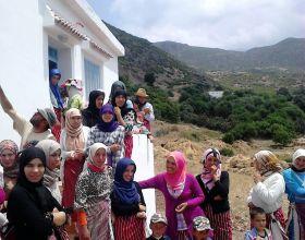 Ellas, mujeres en Marruecos.