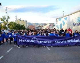 Marcha Solidaria en la delegación comarcal de Manos Unidas Onteniente.