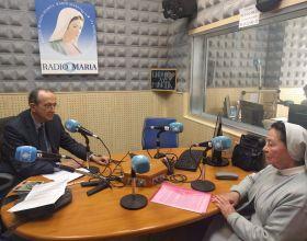 Con la misionera Regina y Manos Unidas en Radio María