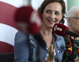 La periodista Mayte Salvador