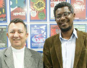 Dom Joao Costa y Luiz Claudio Lopes da Silva de CARITAS BRASIL-Foto Irene-Hdez-Sanjuan-ManosUnidas