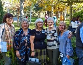 Voluntarias de Manos Unidas Valencia en las Jornadas de Formación.