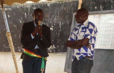 Encuentro evaluación convenio Manos Unidas y AECID en Senegal. Foto: Manos Unidas