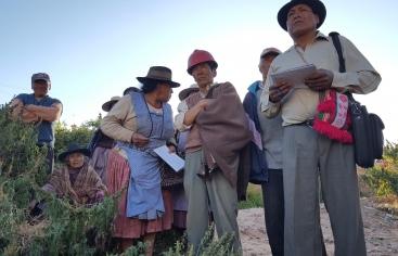 Bolivia: condena y preocupación. Foto: Manos Unidas/Carmen Santolaya