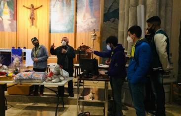 Cena Solidaria en la parroquia Sant Joan baptista de Reus