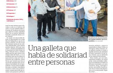 "Presentación ""Galleta Solidaria"""