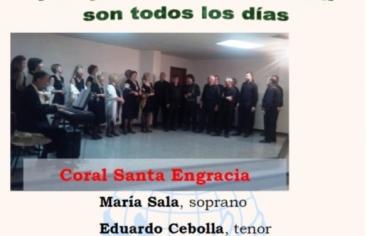 Cartel Concierto Lirico Solidario Parroquia del Portillo