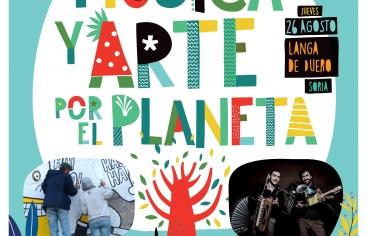 Música y Arte por el Planeta es una actividad de sensibilización y de reflexión sobre la importancia del cuidado de nuestro planeta, y cómo los modelos de vida afectan a todos, pero en especial a las familias que viven en los países en vías de desarrollo. Tendrá lugar en Langa de Duero este próximo jueves, día 26, en horario de mañana y de tarde. Está abierta al público en general. Con esta actividad Manos Unidas pretende acercar los Objetivos de Desarrollo Sostenible, en concreto sobre el objetivo número 1