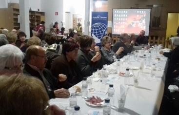 Cena del hambre Manos Unidas Urgell