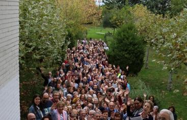 Los asistentes a las Jornadas de Formación 2018. Foto: Manos Unidas/Pilar Seidel