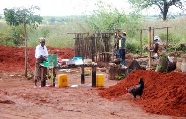 Construcción en Mozambique_Foto:Manos Unidas/Sonsoles Fernández Iriondo