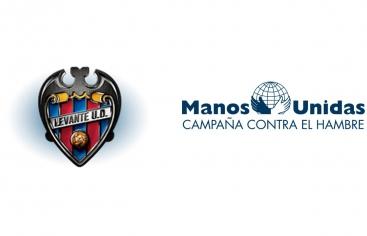 El Levante UD mostrará la campaña de Manos Unidas en su partido del domingo 8 de marzo.