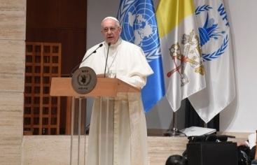 """El Papa al PMA: """"Necesitamos héroes que pongan el acento en el rostro del que sufre"""""""