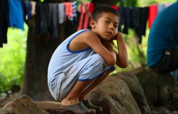 Foto de Javier Mármol en El Salvador para Manos Unidas