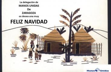 Felicitación Navidad Manos Unidas Zaragoza