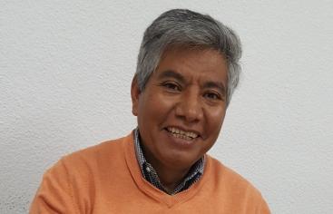 Félix Almendras, gerente de PROAGRO, socio local de Manos Unidas en Bolivia