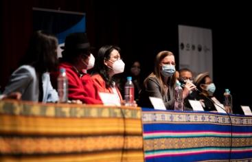 Comienza en Ecuador un proyecto para fortalecer la justicia indígena - Manos Unidas - Unión Europea