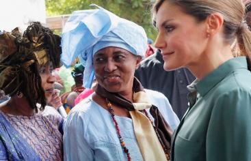 Reina Leticia en Senegal