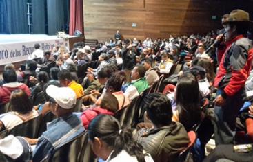 El Convenio Manos Unidas-AECID participa en el «X Foro Nacional de Recursos Hídricos» en Ecuador