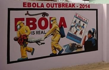 Sensibilización sobre el ébola en Sierra Leona. Foto Caritas Freetown/Manos Unidas