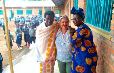 Ana Ruiz ha realizado su viaje de formación con Manos Unidas a Ruanda.