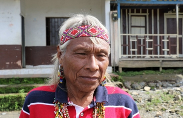 Indígena emberá en la Comunidad de La Villa:Colombia: Foto María José Pérezz