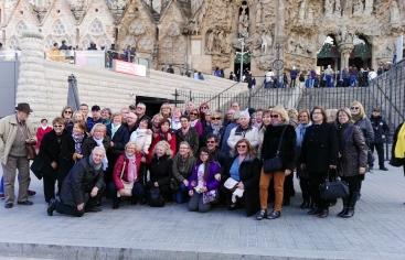 Gran actividad de la delegación de Mans Unides Sant Feliu de Llobregat