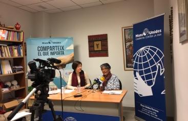 """Manos Unidas Tortosa presenta la campaña """"Comparte lo que importa"""""""