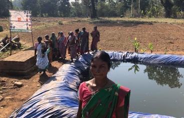 India - Foto Ana Luna Manos Unidas - Agricultura sostenible
