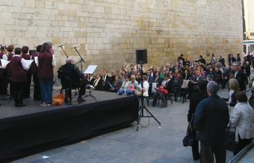 Concierto multitudinario: Lleida contra el hambre