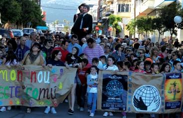 Tortosa, manifestación contra el hambre