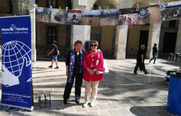 Mans Unides Vilanova i la Geltrú en la fiesta de la Diversidad Cultural