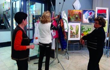 Artesanía solidaria en el mercadillo de Alfred Pereña