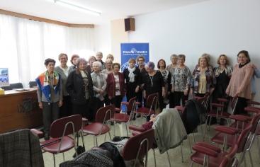 Encuentro con las comarcales de Manos Unidas en Lérida