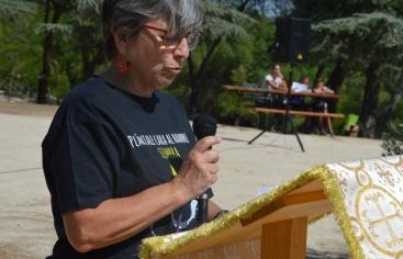 La presidenta de Manos Unidas Madrid en la Jornada de Oración por el Cambio Climático