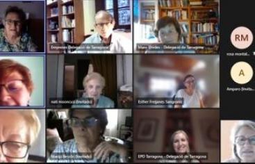 Reunión con voluntarios/as de la demarcación