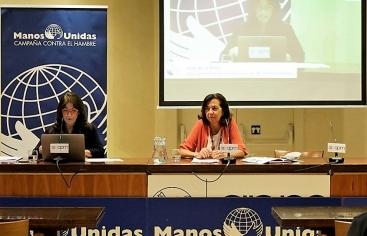 Rueda de prensa Manos Unidas. Foto: Manos Unidas