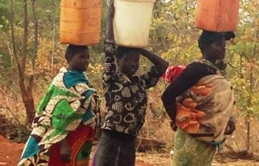 Mujeres de Zambia.