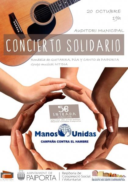 Concierto Solidario Manos Unidas Paiporta