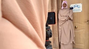 Taller de periodismo para prevenir la MGF en Mauritania. Foto:Manos Unidas