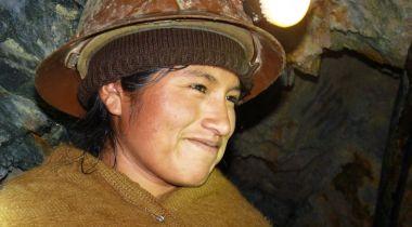 Mujeres mineras en Japo, Bolivia