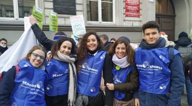 Los jóvenes de Manos Unidas y la Laudato Si'. Foto: Manos Unidas