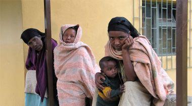 La pobreza, obstáculo para la salud. Foto: Manos Unidas/Marta Carreño Hospital de Gambo (Etiopía)