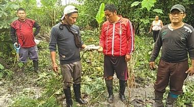 Derrame de petróleo en Ecuador - Foto CAAAP