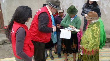 Foto Manos Unidas - Convenio Ecuador